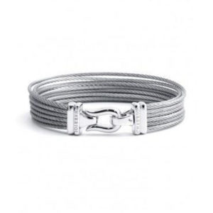 Charriol Brilliant Bangle-Medium- 04-121-1214-0m