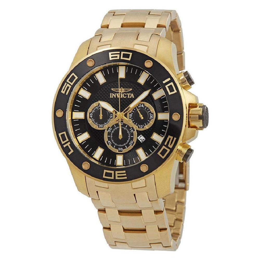 ee38020e8 ... Diver Chronograph Black Dial Men's Watch 26076. 🔍. InvictaPro ...