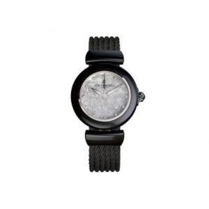 Charriol Black Ceramic Lady Watch 33mm AE33cb.565.003