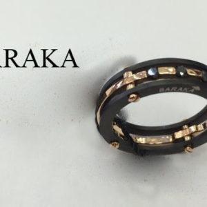 BARAKA AN213371ROBB 220015 18K/PVD RING