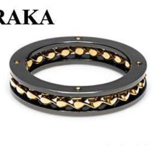 BARAKA AN261031GIGR220000 18K/S.STEEL PVD RING