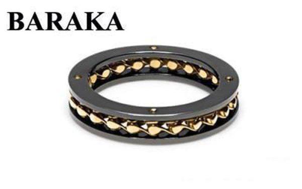 BARAKA AN261031GIGR220000 18K/S.STEEL PVD RING
