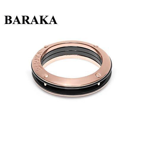 BARAKA AN261061ROCN220000 18K/CERAMIC RING
