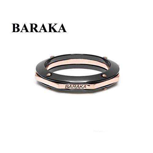 BARAKA AN261071ROCN220000 18K CERAMIC RING