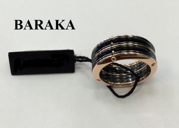 BARAKA AN261081ROCN220000 18K/CERAMIC RING