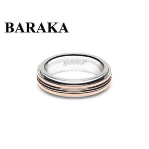 BARAKA AN261121ROAC220000 18K/ST.STEEL RING