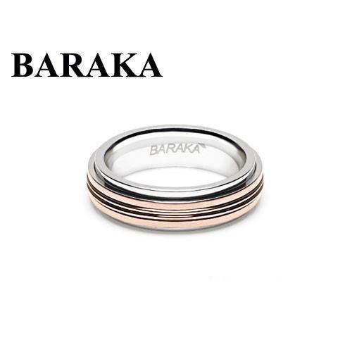 BARAKA AN261121ROAC220000 18K/ST.STEEL RING