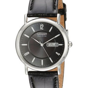 Citizen BM8240-03E Eco-Drive Black Leather Men's Watch