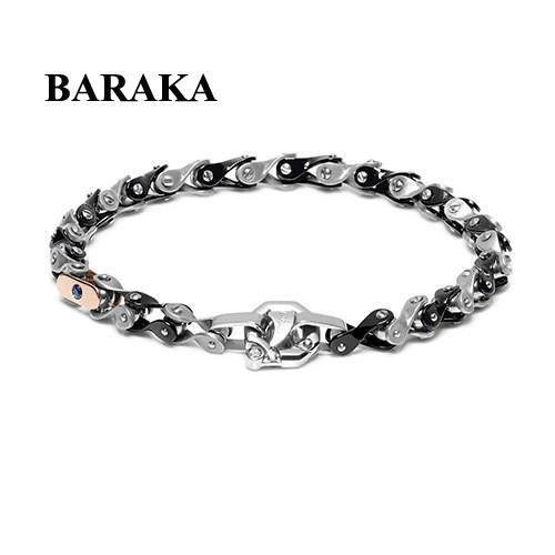 BARAKA BR252091ROAL220004 18K/PVD/DIAM BRACELET