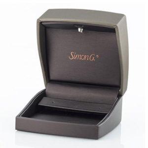 Simon G DE117-R EARRING