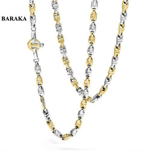 BARAKA GC222021GBAU500002 18K/DIAM NECKLACE