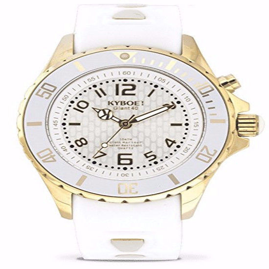 KYBOE! GHOST GOLD KG.40-004.15 Ladies Gold-Tone LED Watch