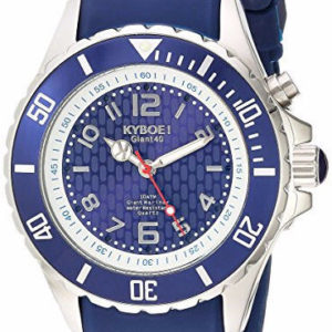 KYBOE! 'Power' Quartz Stainless Steel and Silicone Casual Watch KY.40-031.15