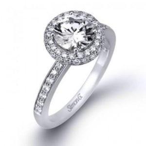 Simon G LP1983 Engagement Ring