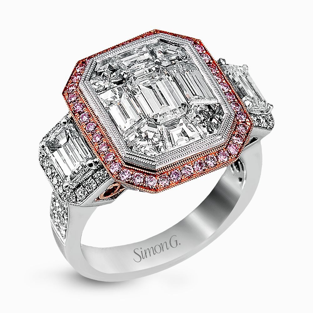 Simon G ENGAGEMENT RING LP2068-A