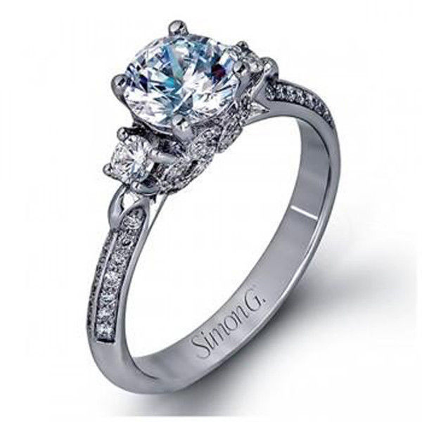 Simon G LP2076 Engagement Ring