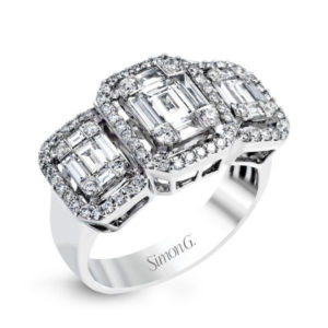 Simon G LP2261 RIGHT-HAND RING