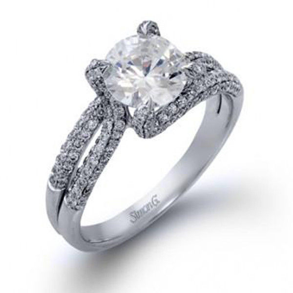 Simon G MR1490 Engagement Ring
