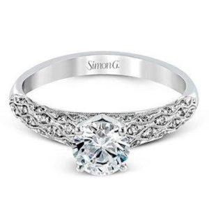 Simon G MR1697 Engagement Ring