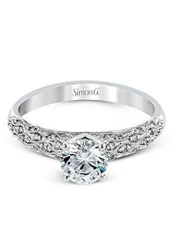Simon G MR1697 Engagement Ring