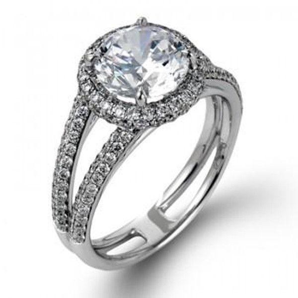 Simon G MR1788 Engagement Ring