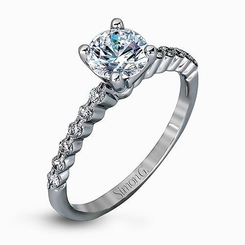 Simon G MR2173-D ENGAGEMENT RING
