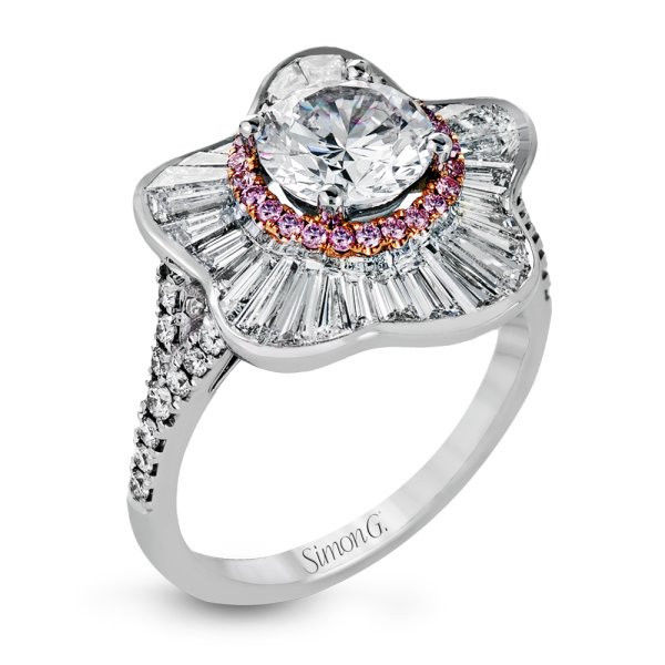 Simon G MR2562 ENGAGEMENT RING