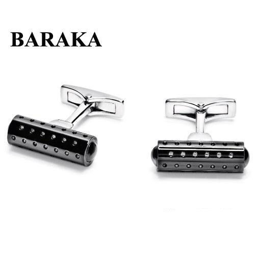BARAKA PS231162ANGT000200 ST.S/PVD CUFF LINKS