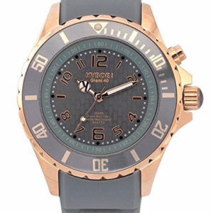 KYBOE! ROSE GOLD CYCLONE RG.40-004.15 Ladies Grey LED Watch