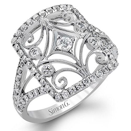 Simon G TR470 18KW Ring Size 6.5