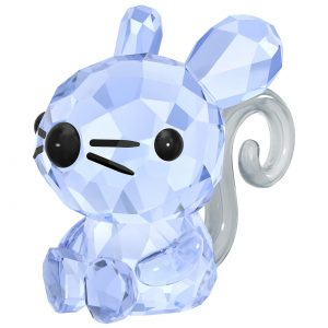 Swarovski 5302558 Zodiac Charming Rat, Crystal Authentic Figurine