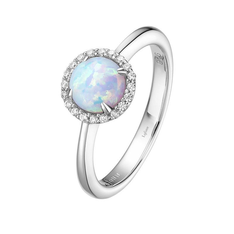 Lafonn BR001OPP0 October Opal Ring