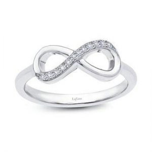 Lafonn R2003CLP06 Infinity Ring size 6