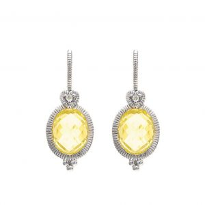 Judith Ripka La Petite Earrings SE627-WSCA