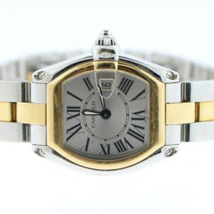 Cartier Roadster 2675 Two-Tone 18K Yellow Gold & SS Watch