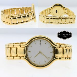 EBEL Beluga 18k Yellow Gold (135.4 Gram) Men's/Lady's 32MM Watch
