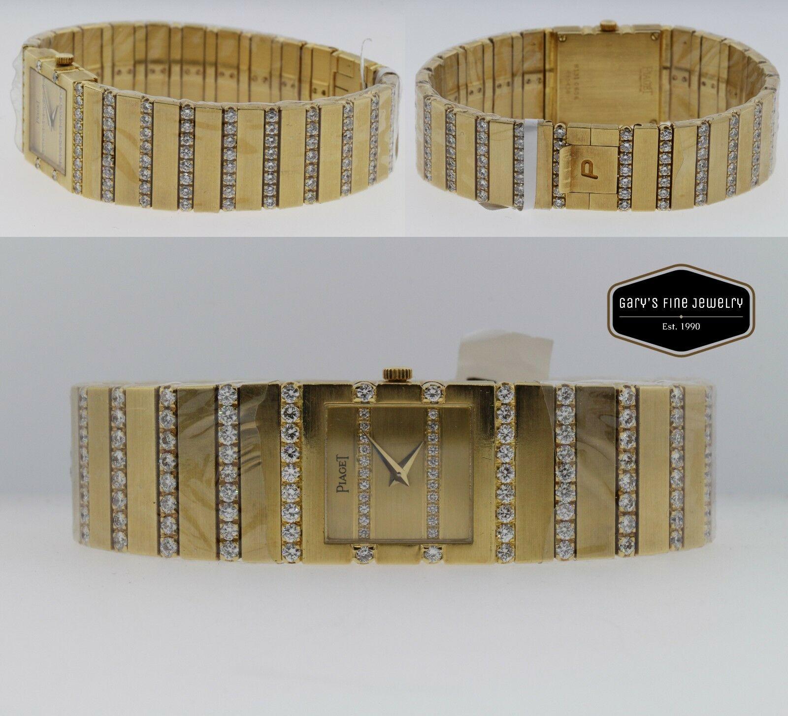 Piaget Polo 18K Gold & Diamond Quartz Women's 20mm Watch