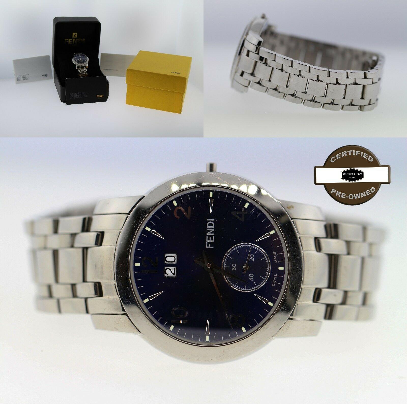 Fendi Orologi Ladies' Stainless Steel Date Watch 2100G