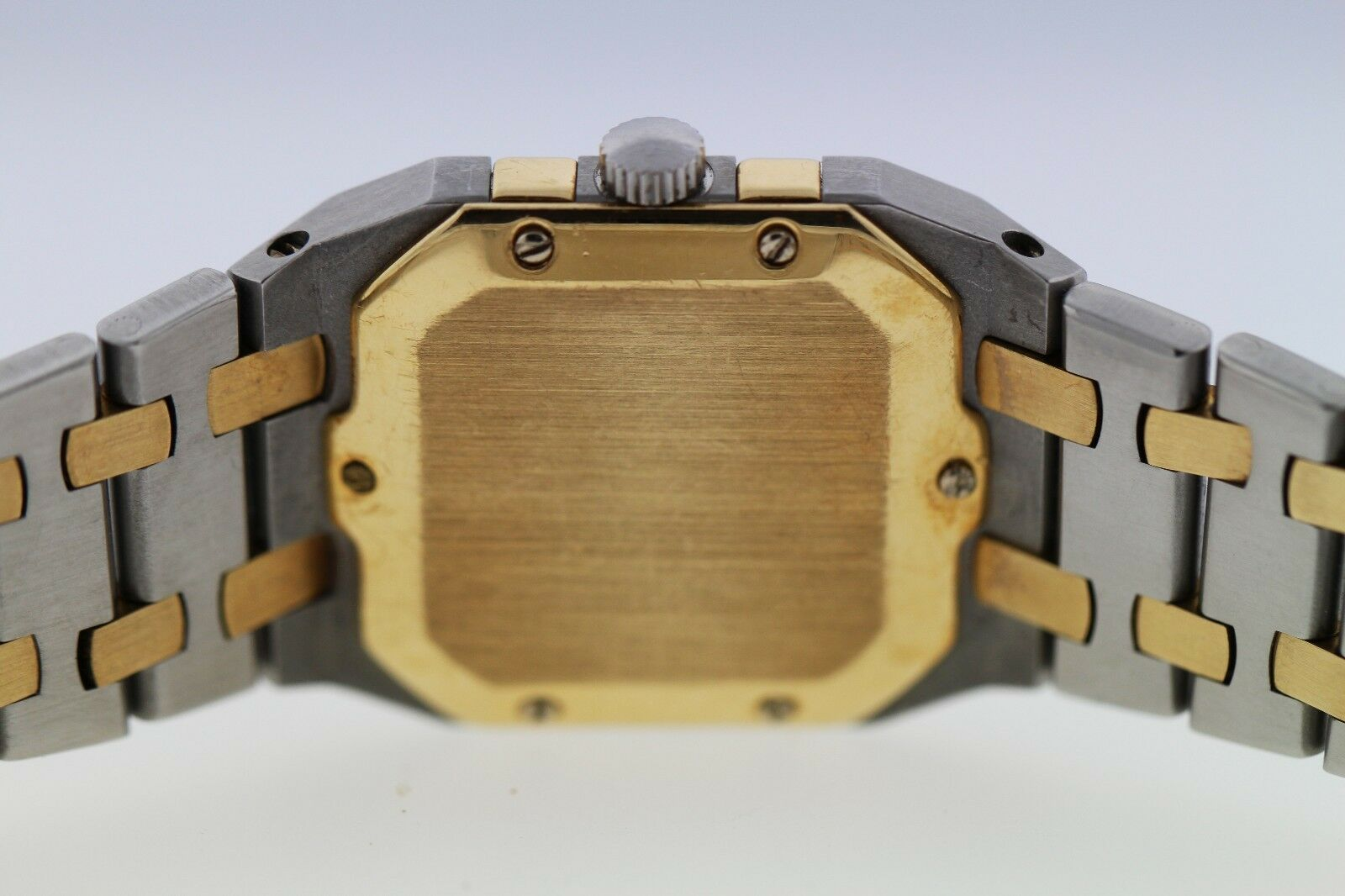 Audemars Piguet Royal Oak Square 25mm 18k Gold Two-Tone Mens Vintage 1980 Watch