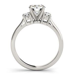 Giana Classic Diamond 3-Stone Engagement Ring   (Platinum)